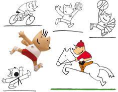 Gestión global del desarrollo de la mascota olímpica, merchandising, productos licenciados y serie para TV.