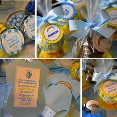 San Diego Chargers Baby Shower