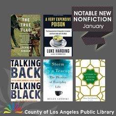 From a journalists death by Polonium to answering how ducks keep their feet warm when walking on ice this new collection of nonfiction titles will interest you. Visit our website >> Books & Media. #lacountylibrary #lacounty #library #reading #books