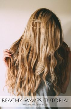 Beachy Waves Tutorial Dip Brow, Hair Day, New Hair, Girl Hair, Ombre Rose Gold, Curling, Updo, E Cigarette, Blonde Hair Makeup