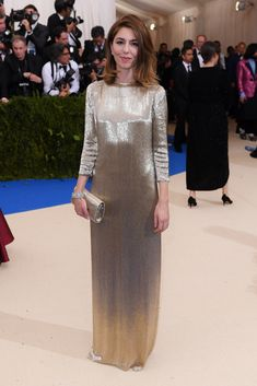 Sofia Coppola in Marc Jacobs. A standout gown in any crowd.Photo: Shutterstock