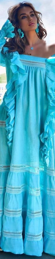 Color Shades, Shades Of Blue, Outfits Mujer, Turquoise Color, Tiffany Blue, Blue Fashion, Pretty Dresses, Sexy Women, My Style