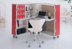 armoire office corner on wheels - where do you buy these cuties?