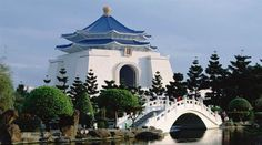 Memorial Nacional Chiang Kai-shek em Taipei, Taiwan.