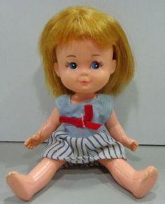 kity mini doll pupi vivinha boneca antiga da estrela lucy