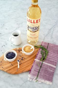 Lavender Lillet Cocktail | Camille Styles
