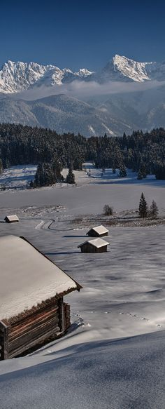 Bavarian Winter, Germany