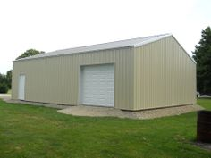 """Building Dimensions: 30' W x 40' L x 10' 4"""" H (ID# 368)  Visit: http://pioneerpolebuildings.com/portfolio/project/30-w-x-40-l-x-10-4-h-id-368-total-cost-11476  Like Us on Facebook! https://www.facebook.com/Pioneer.Pole Call: 888-448-2505 for any questions!"""