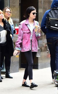 Seeing Pink - In New York City, April 2017