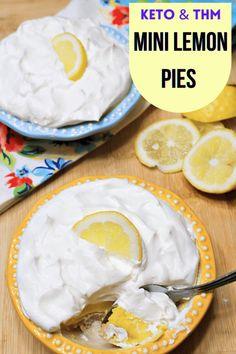 Small Desserts, Diabetic Desserts, Mini Desserts, Low Carb Desserts, Gluten Free Desserts, Delicious Desserts, Thm Recipes, Dessert Recipes, Sugar Free Lemon Curd