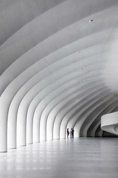 Best Ideas For Architecture and Modern Design : – Picture : – Description Gallery – Harbin Opera House / MAD Architects – 5 Arche Architecture, Contemporary Architecture, Amazing Architecture, Interior Architecture, Opera House Architecture, Harbin, Colani, View Photos, Exterior Design