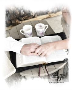 This couple did a daily bible devotion on their front porch every morning.  So, of course I had to capture that image with this session as well.