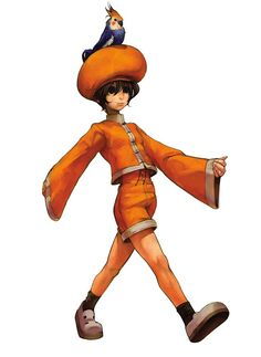 Bao from The King of Fighters 2001