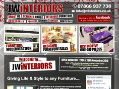 Website for JW Interiors