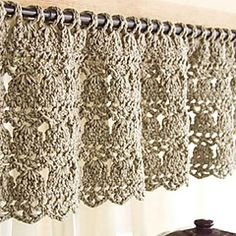 Ravelry: Feather-Stitch Valance pattern by Mickie Akins