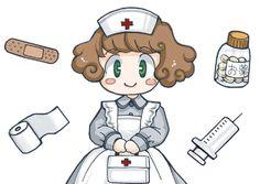 Dibujos de enfermeras para imprimir