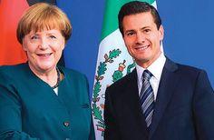 La Canciller alemana, Angela Merkel, reconoció el empuje de México al alcanzar reformas en sectores como el energético que han atraído la atención de empresarios ale...