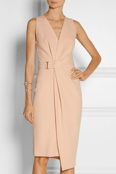 Dion Lee | Wrap-effect crepe dress | NET-A-PORTER.COM
