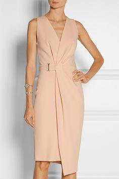 Dion Lee|Wrap-effect crepe dress|NET-A-PORTER.COM