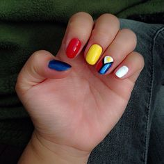 Philiphines This Is So Simple For Anyone To Do This Nail Art