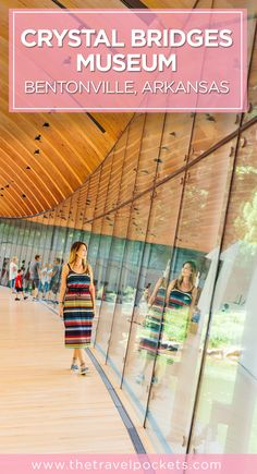 Crystal Bridges Museum in Bentonville, Arkansas, USA
