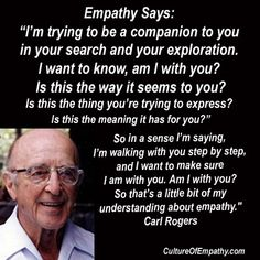 Culture of Empathy Builder: Carl Rogers Quotes