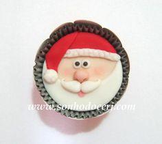 Cupcake Natal ! curta nossa página no Facebook: www.facebook.com/sonhodocerj