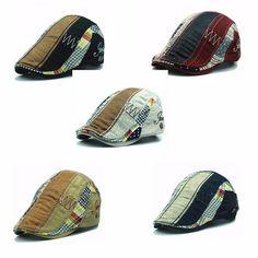 High-quality Men Women Cotton Beret Cap Casual Outdoor Visors Sun Hat - NewChic