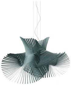 Minimikado LZF Pendant Lamp Minimikado designed by Miguel Herranz for LZF is a wood veneer suspension lamp. Blue Wood, Grey Wood, Pendant Lamp, Pendant Lighting, Ceiling Lamp, Ceiling Lights, Fluorescent Lamp, Light Crafts, Modern Chandelier