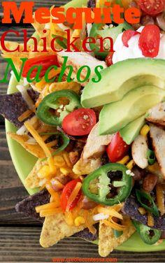 Mesquite Grilled Chicken Nachos-Creole Contessa