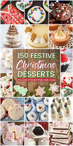 Make your Christmas party guests merry with these festive Christmas desserts. There are over 100 ideas for Christmas cupcakes, Christmas cookies, Christmas fudge, Christmas cakes and much more! Holiday Cookies, Holiday Baking, Christmas Desserts, Holiday Treats, Holiday Recipes, Christmas Cakes, Christmas Recipes, Holiday Foods, Christmas Fudge
