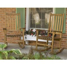 2 wood rockers - $199 temporary price cut at Target ONLINE only...