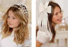 Complementos para peinados de comunión