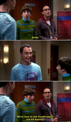 The Big Bang Theory this is my absolute favorite scene!!