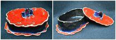 Ceramiczna #maselniczka - wykonana ręcznie.