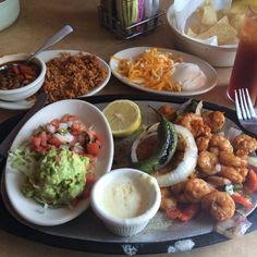 Sizzling Shrimp Fajitas - Uncle Julio's, Bethesda, MD
