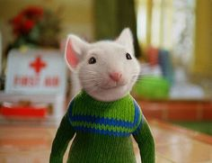 something about this little white mouse i could not resist. stuart little.