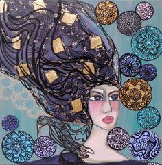 "Saatchi Art Artist Leyla Salm; Painting, ""Leyla Salm - Large Canvas finished…"