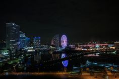 Minatomirai at Night