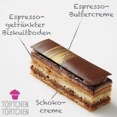 Patisserie Design, Köstliche Desserts, Eclairs, Food Cravings, Cheesecakes, No Bake Cake, Tiramisu, Fondant, Bakery