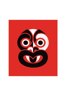 red Tiki Prints - Greg Straight Art & Design