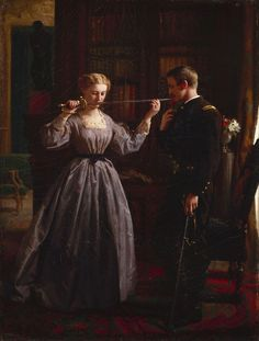 The Consecration - George Cochran Lambdin 1861