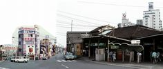 昭和50年頃の名鉄金山橋駅。