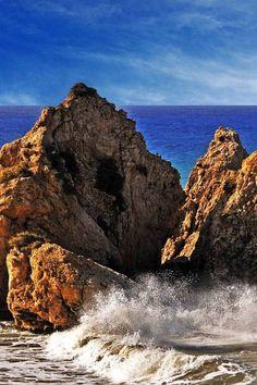 Rough sea, Paphos, Cyprus