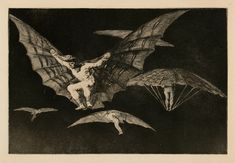 Francisco De Goya Manner of Flying, Plate 13 in Proverbs print for sale. Shop for Francisco De Goya Manner of Flying, Plate 13 in Proverbs painting and frame at discount price, ships in 24 hours. Cheap price prints end soon. Francisco Goya, Davidson Galleries, Spanish Artists, Portraits, Art Institute Of Chicago, Old Master, Poster, Art Museum, Printmaking
