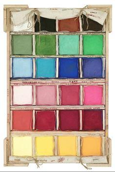 Envoi de Bruges #dravetart #art #louisboudreault #colour #pigment #pure #series #box
