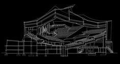 Hans Scharoun's Berliner Philharmonie – CAD Design | Free CAD Blocks,Drawings,Details