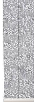 Herringbone Wallpaper - 1 panel - L 53 cm