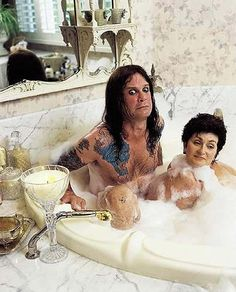 Ozzy and Sharon Osbourne! appears that they have been through it ALL Ozzy Osbourne Ozzmosis, Ozzy Osbourne Quotes, Ozzy And Sharon Osbourne, Ozzy Osbourne Young, Ozzy Tattoo, I Tattoo, Life Tattoos, Cool Tattoos, Awesome Tattoos