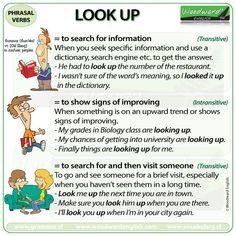 Phrasal Verbs: Look up